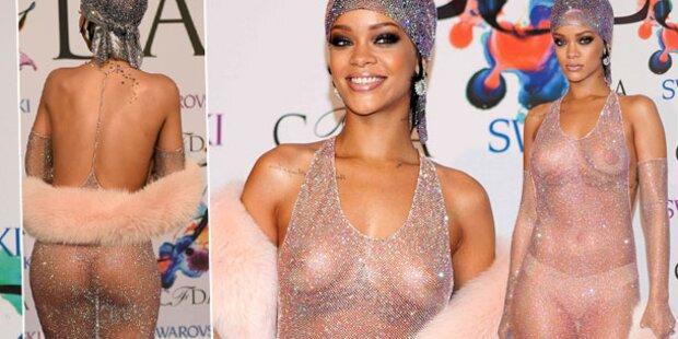 Rihanna, zieh dich doch endlich an