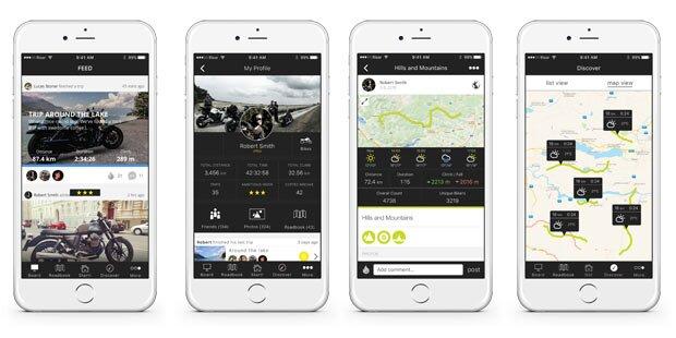 Geniale Biker-App aus Österreich