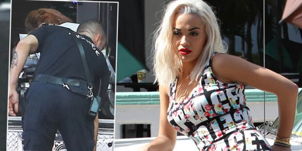 Rita Ora: Kollaps bei Foto-Shooting
