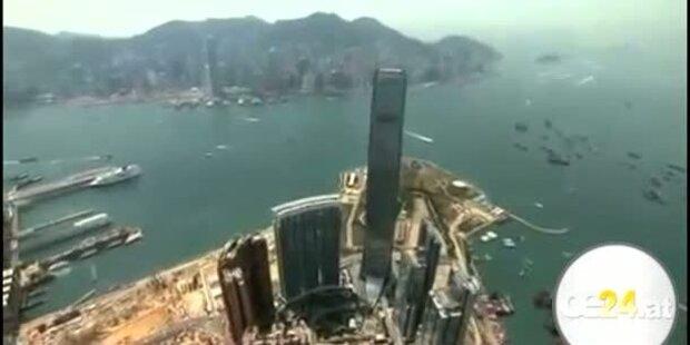 Höchstes Hotel der Welt in 490 Metern