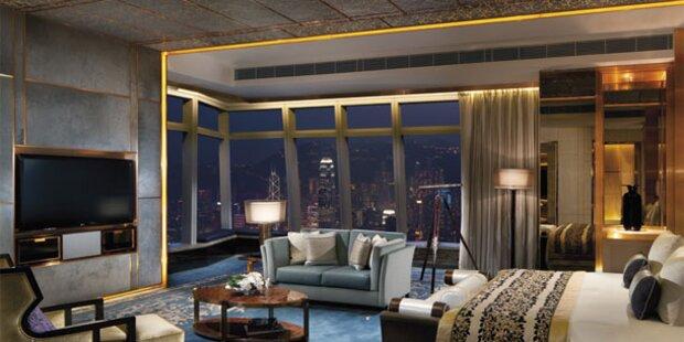 Teuerstes, höchstes und grünstes Hotel