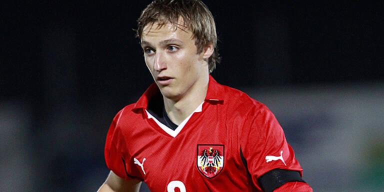 Ritzmaier debütierte für PSV Eindhoven