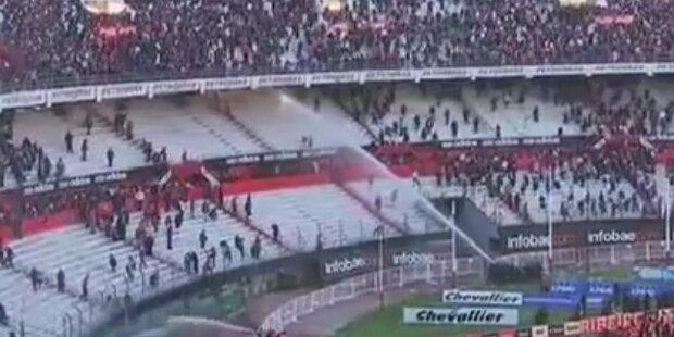 Gewaltexzesse nach Abstieg von River Plate