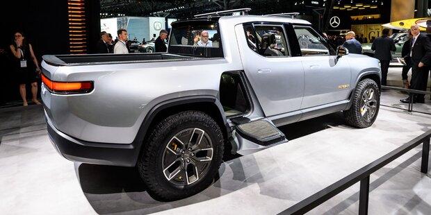 E-Pick-up: Ford setzt auf Plattform von Rivian