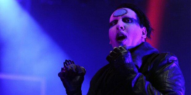 Manson: Horror-Show in Wien