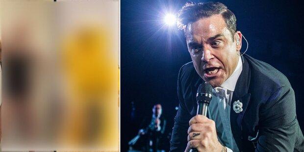 Robbie: Schniedel-Vergleich vor Wien-Gig