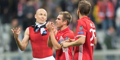 Deutschen Klubs droht Triple-Out