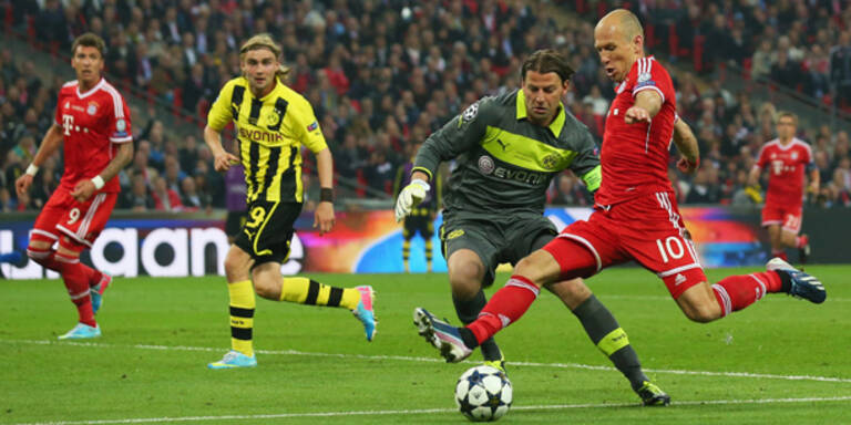 Robben beendete Bayerns Finaltrauma