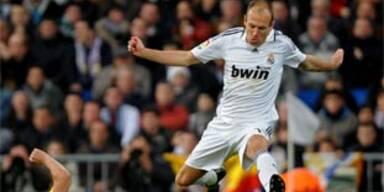 Robben rettet Real gegen Villareal