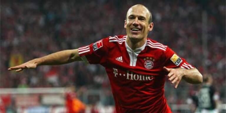 Bayern siegen dank Robben