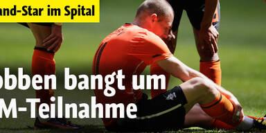 Robben bangt um WM-Teilnahme
