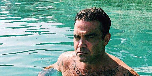 Robbie ging vor Glock-Gala baden