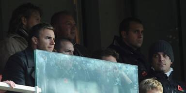 Hängt sich Robbie wieder an Take That?
