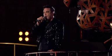 Robbie Williams's Mega-Konzert