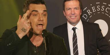 Robbie Williams, Lothar Matthäus
