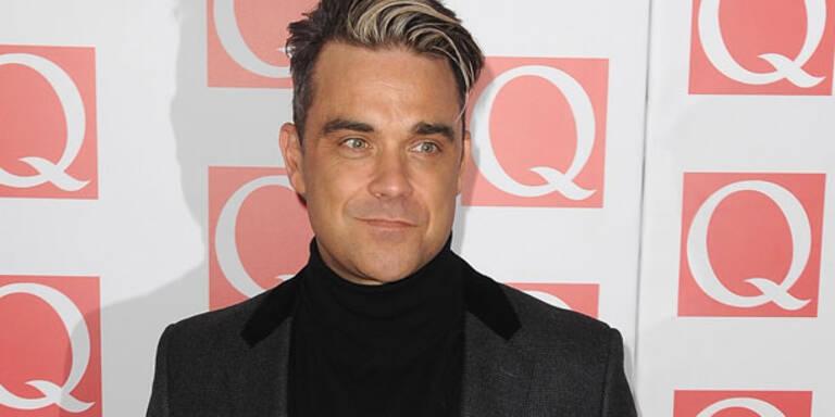 Robbie: Lieber Windeln als Jetset-Leben
