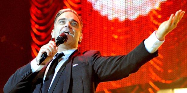 Robbie strippt vor Austro-Konzerten