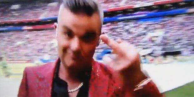 Mittelfinger-Skandal: Das sagt Robbie