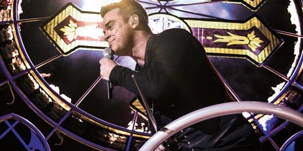Robbie verspricht Sex-Show für Tour