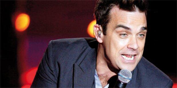 Robbie: 1. Auftritt mit Frau