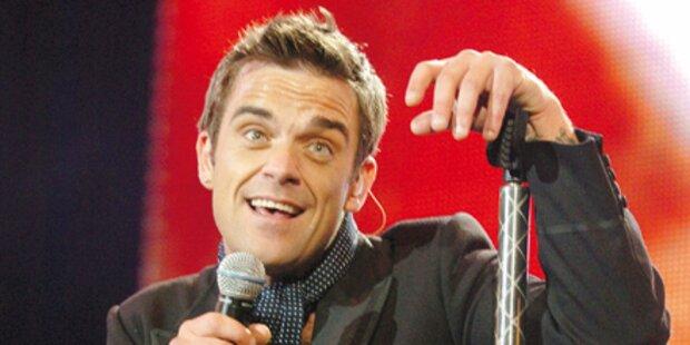Robbie-Festival auf CD, Tour, TV