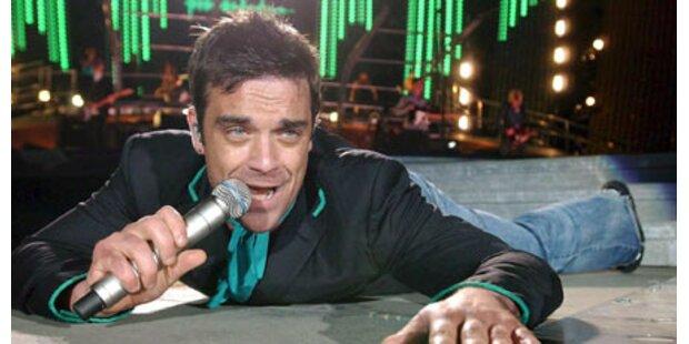 Robbie will mit Wien-Show aus der Krise