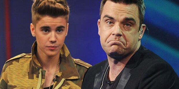 Robbie Williams: Sorge um Justin Bieber