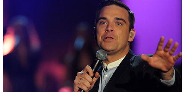 Robbie Williams auf Mini-Tournee