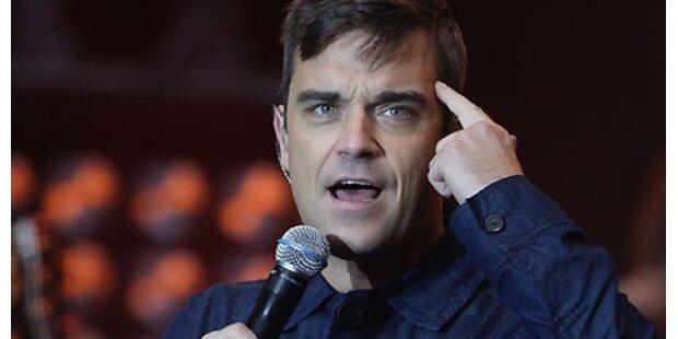 Robbie Williams - Peinlicher Live-Patzer