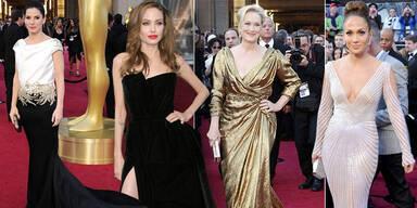 Die schönsten Roben der Oscars