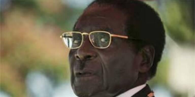 Robert Mugabe richtet Rede an die Nation