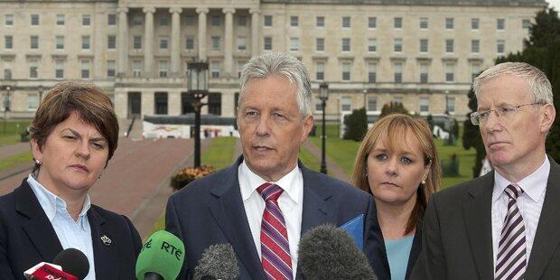 Nordirische Regierung steht vor Kollaps