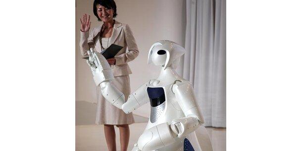 Roboter sollen in der Pflege erste Geige spielen