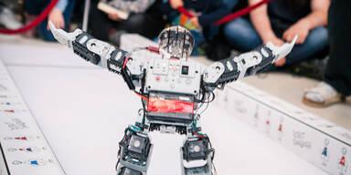 Größter Roboter Wettbewerb in Wien