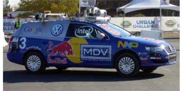 Pentagon veranstaltet Roboter-Autorennen
