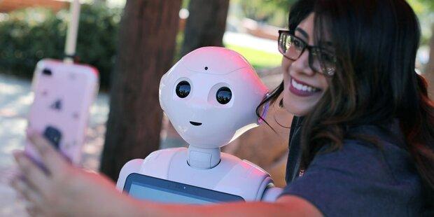 Roboter mit Macken wirken netter