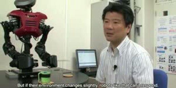 Roboter handelt und denkt selbstständig