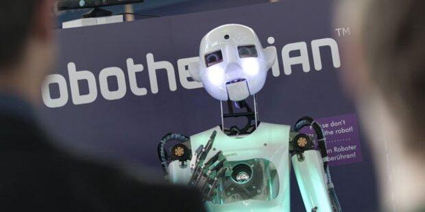 Singende & malende Roboter als Attraktion