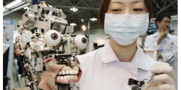 Zahnärzte lernen an Roboter-Patienten Feingefühl