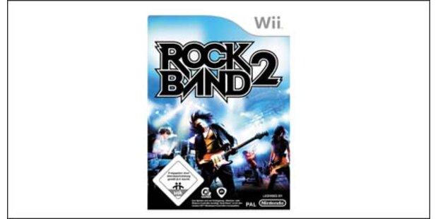 Rock Band 2 kommt für die Nintendo Wii