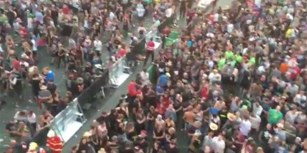 Terror-Gefahr: So genial reagieren Rock am Ring-Besucher