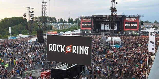 Rock am Ring geht weiter