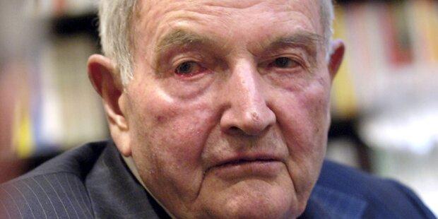 David Rockefeller stirbt mit 101 Jahren