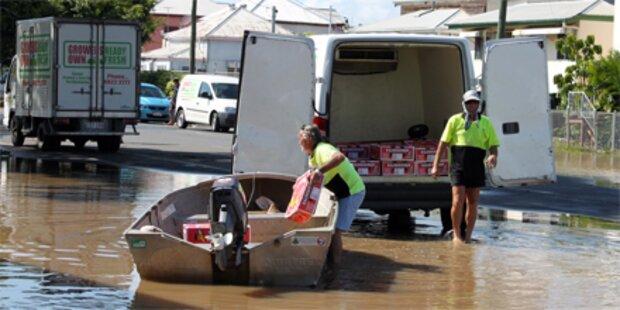 Hochwasser in Australien geht zurück