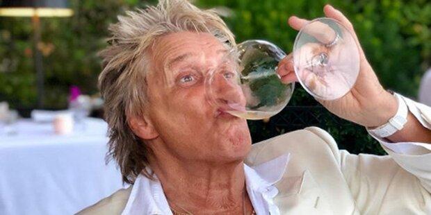 So erholt sich Rod Stewart von der Hitze