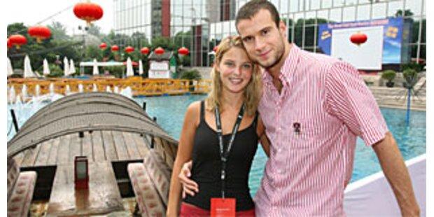 Christine Reiler endlich bei ihrem Markus