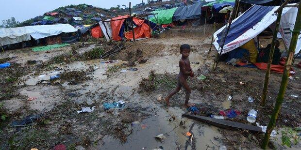 Monsun verschärft Rohingya-Flüchtlingskrise in Bangladesch