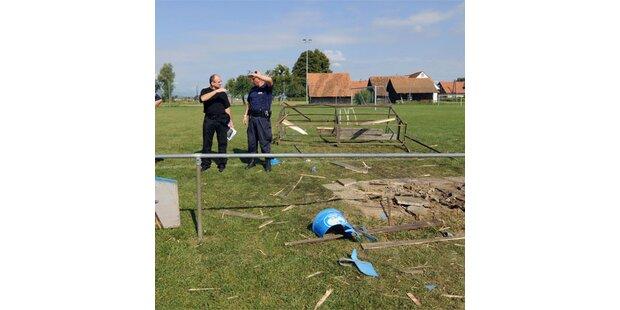 Rohrbombe in der Steiermark explodiert