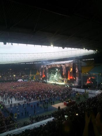 Rolling Stones im Ernst-Happel-Stadion