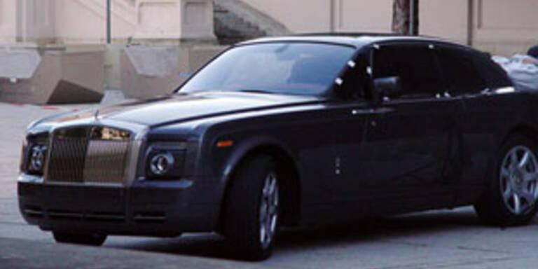 Noch geheimer Rolls Royce in freier Wildbahn